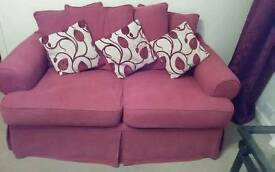 3 piece suite with extra full set of covers