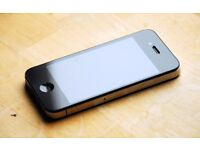 iPhone 4 black immaculate condition