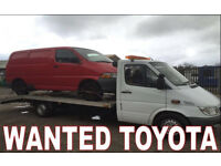TOYOTA HIACE ANY CONDITION !!!!! WANTED!!!!