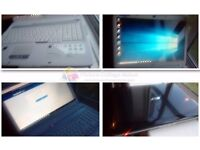 """large 17"""" screen as new condition multimedial and gaming fast laptop Acer, Windows 10, was £599"""