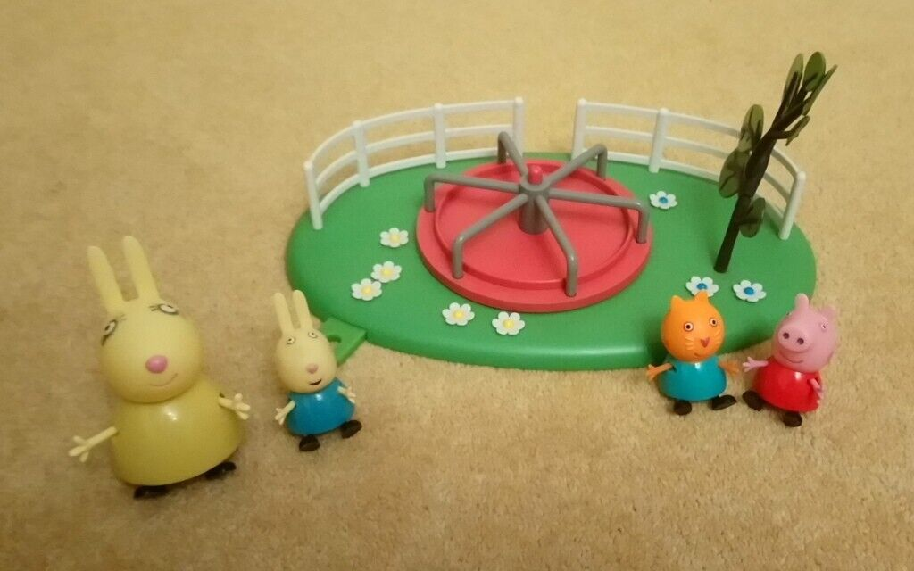 Peppa Pig Playground Roundabout toy play set | in Newtownards, County Down | Gumtree