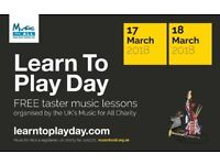 Learn Guitar Open Day - Book a FREE Taster Lesson