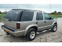 Chevrolet blazer 4x4 jeep. Not shogun land rover