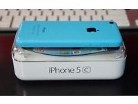 APPLE IPHONE 5C 16GB BLUE FACTORY UNLOCKED BOXED EXCELLENT CONDITION