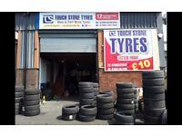 Part worn tyres/ wholesale / retail/ open 7 days a week