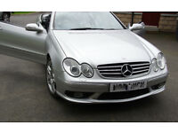 Mercedes CLK 55 AMG Convertable , Rare facelift model