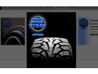 Part worn tyres/ 225/45/17-225/50/17-225/45/18-246/45/18- winter tyres in stock