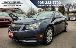 2014 Chevrolet Cruze 1LT, 1 OWNER, BLUETOOTH, PWR LOCKS/WINDOWS,