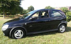 2001 VAUXHALL CORSA 1.2 SXI BLACK MOT 3 DOOR HATCH CHEAP TAX & INSURANCE