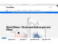 DIRECT IPHONES - BEST DEALS ON THE LATEST APPLE IPHONES - UK WIDE