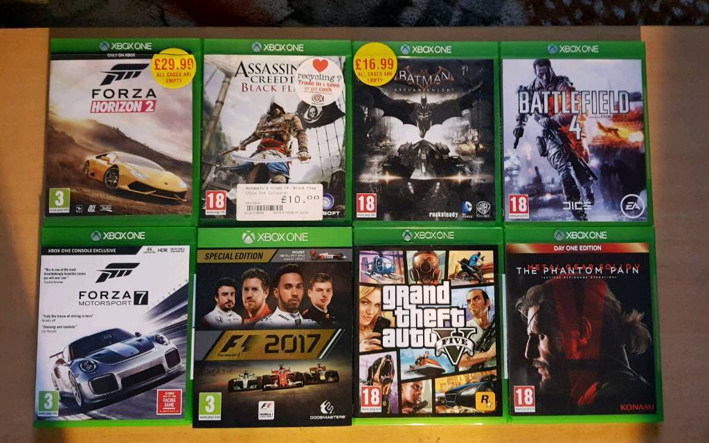 XBOX ONE GAMES FOR XBOX ONE CONSE (OPEN TO OFFERS) WILL SPLIT