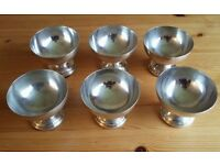Mappin & Web Silver Plated Cups | Set of 8