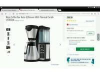 Ninja Coffee Bar Auto-IQ Brewer With Thermal Carafe