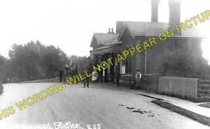 Holmwood Railway Station Photo. Dorking - Ockley. Warnham and Horsham Line LBSCR