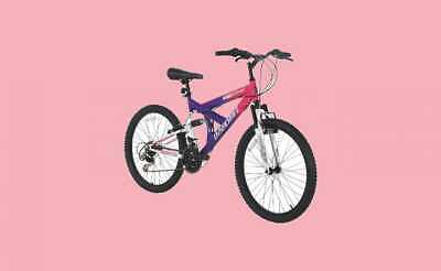 Best Girl's Dual Suspension Mountain Bike for Fun Adventures, 24