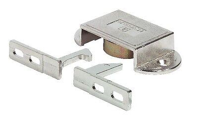 Automatic Door Bolt Catch/Latch, Zinc Die-Cast Lock double doors Nickel-plated