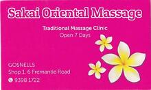 SAKAI ORIENTAL MASSAGE Gosnells Gosnells Area Preview