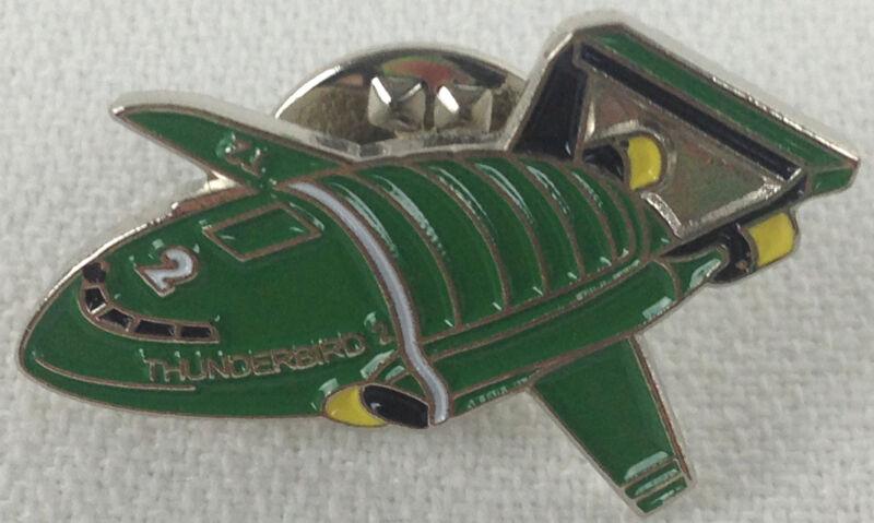 Gerry Anderson THUNDERBIRDS Model #2 - British TV Series UK Imported Enamel Pin