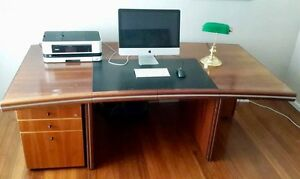 Large executive desk - drawers included Ashburton Boroondara Area Preview