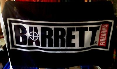 BARRETT Firearms 3x5 FT Flag 50 cal caliber sniper rifle gun sign hunting BANNER