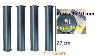 JUEGO 4 PATAS SOMIER DE LAMINAS TAPIFLEX A ROSCA 10mm PARA ROSCA...