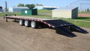 36 foot Pintle hitch trailer