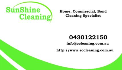 Sunshine Cleaning Sunshine Coast (well-trained Cleaners available)