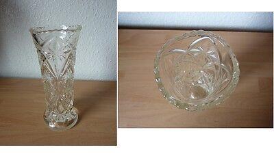 Aus Nachlass: schöne Vase Bleikristall