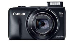 Canon PowerShot SX600 HS 16MP 18X Optical Zoom Digital Camera
