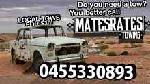 MATES RATES TOWING REDBANK AREAS FROM $30 EFTPOS AVAILABLE Redbank Plains Ipswich City Preview