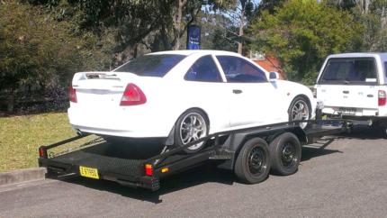 CAR TRAILER HIRE  CENTRAL COAST, BENSVILLE. FROM $70 Empire Bay Gosford Area Preview