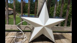 2 belles lampes étoile western/2 western country star lamps