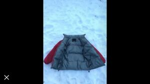 Men's reversible down jacket (size LG)