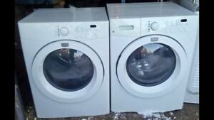 Front Load Set! Dryer is Gas! Includes stacking kit/Will Deliver