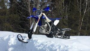 Snowbike Yz 450 Timbersled Montagne Hourse 120