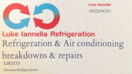 Luke Iannella Refrigeration Adelaide CBD Adelaide City Preview