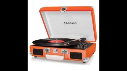 Crosley Cruiser 3-speed portable turntable Cottesloe Cottesloe Area Preview