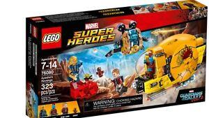 Brand New LEGO 76080 Marvel Super Heroes Ayesha's Revenge Ryde Ryde Area Preview