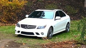 Mercedes C63 AMG new winter tires