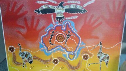 Aboriginal canvas art work  Wollongong 2500 Wollongong Area Preview