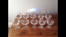 Vintage 1920's Style Champagne Glasses Waratah Newcastle Area Preview
