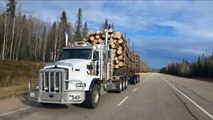 Looking for log truck drivers