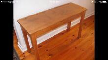 Vintage Solid Teak School Desk 1950/60's Hackham West Morphett Vale Area Preview