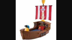 Kids toddler pirate bed