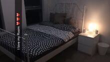Ikea Bed ( LEIRVIK ) plus Mattress , Bedsidetable& Doona/ Pillows Lane Cove Lane Cove Area Preview