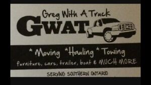 Hauling towing moving