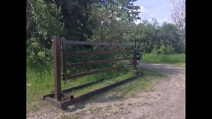 Automation for residential gates