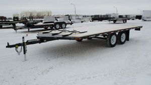 18 ft charger sled/utility trailer