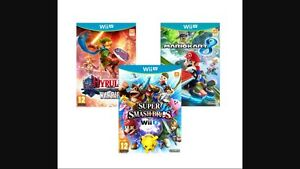 Looking for WiiU/3DS Games