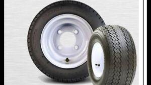 Golf Cart Trailer Tires & Wheels 18x8.50-8